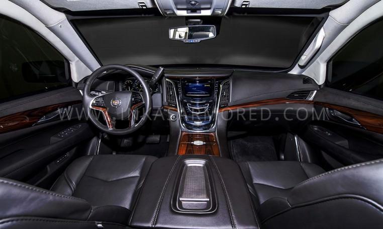 Armored Cadillac Escalade Front Seats