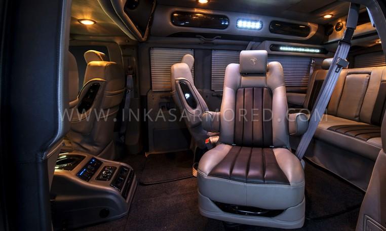 Armored GMC Savana VIP Limo Seats Nigeria