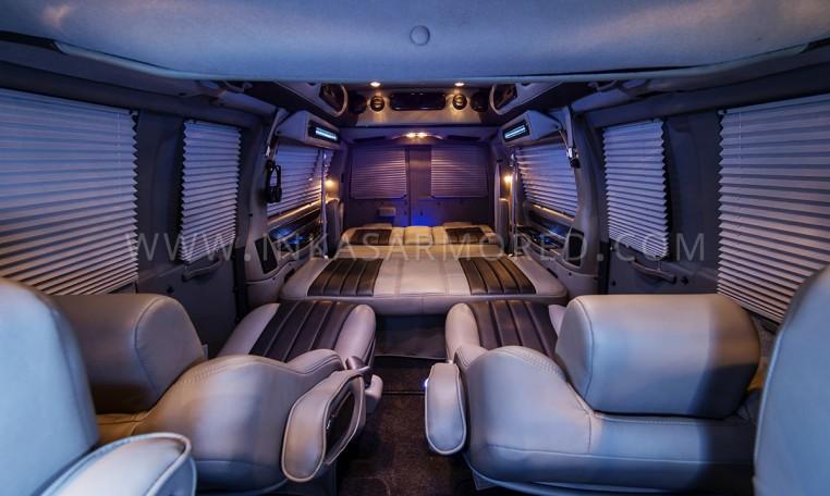 Armored GMC Van Limousine Interior Cabin Nigeria