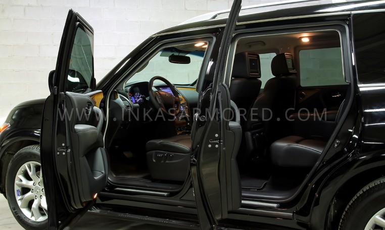 Armored Infiniti QX80 Ballistic Glass Nigeria