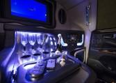 Armored Lexus LX 570 Limo Custom Interior Nigeria