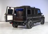 Armored Mercedes-Benz G63 Limousine Rear Bulkhead Nigeria