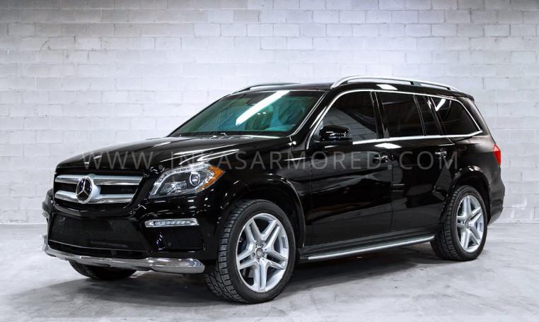 Armored Mercedes-Benz GL-Class SUV Nigeria