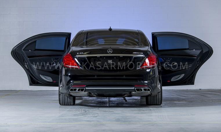 Armored Mercedes-Benz S-Class Nigeria