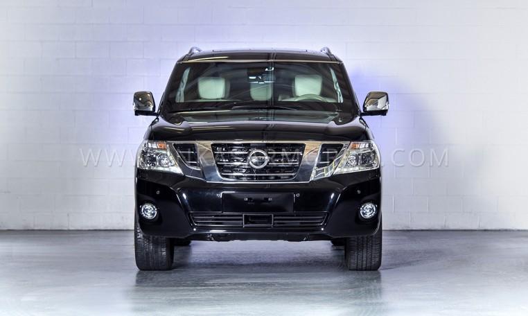 Armored Nissan Patrol SUV Nigeria