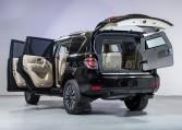 Armored Nissan Patrol SUV Rear Nigeria