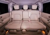 Armored Nissan Patrol SUV Rear Seats Nigeria