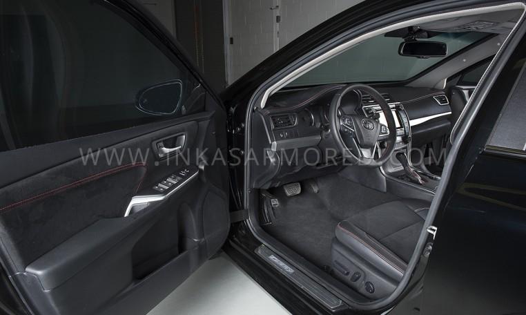 Armored Toyota Camry Sedan Front Nigeria