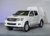 Armored Toyota Hilux Cash In Transit Nigeria