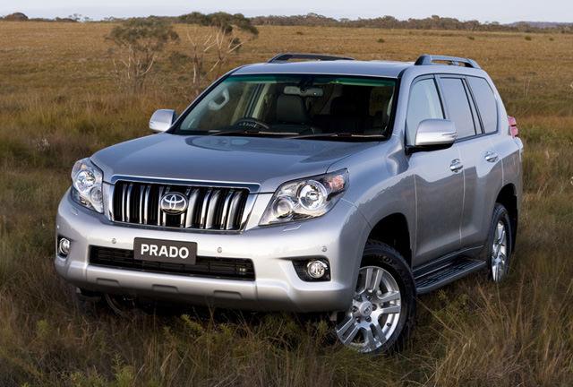 Armored Toyota Prado SUV Nigeria