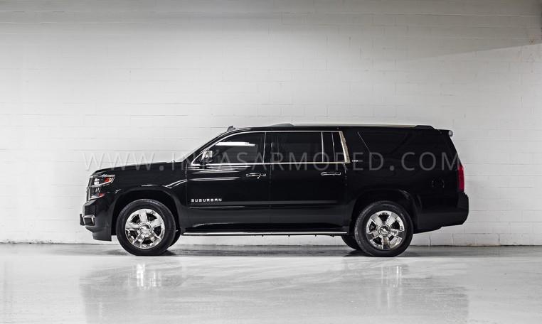 Armoured Chevrolet Suburban SUV Nigeria