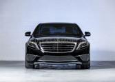 Armoured Mercedes-Benz S-Class Nigeria