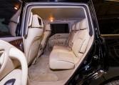 Armoured Nissan Patrol SUV Rear Seating