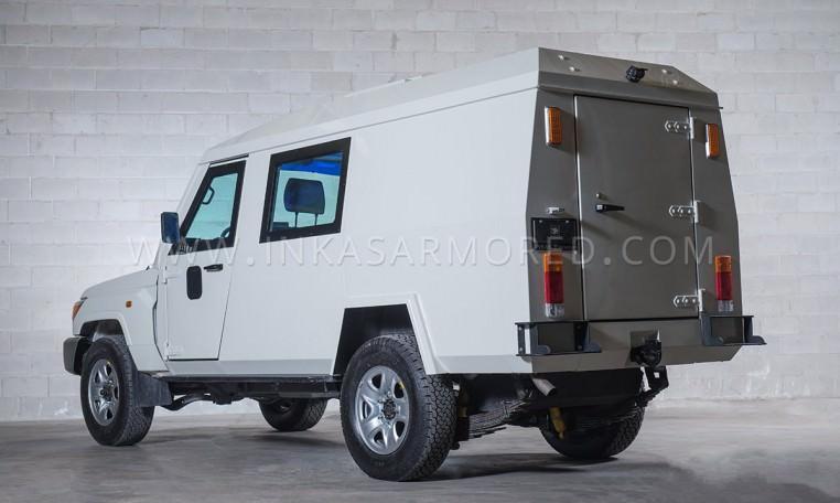 Armoured Toyota Land Cruiser 79 CIT Truck Nigeria