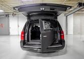 Chevrolet Surban Armored Rear Bulkhead Nigeria