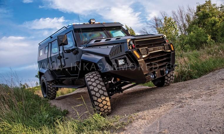 INKAS Sentry APC Tactical Vehicle Nigeria