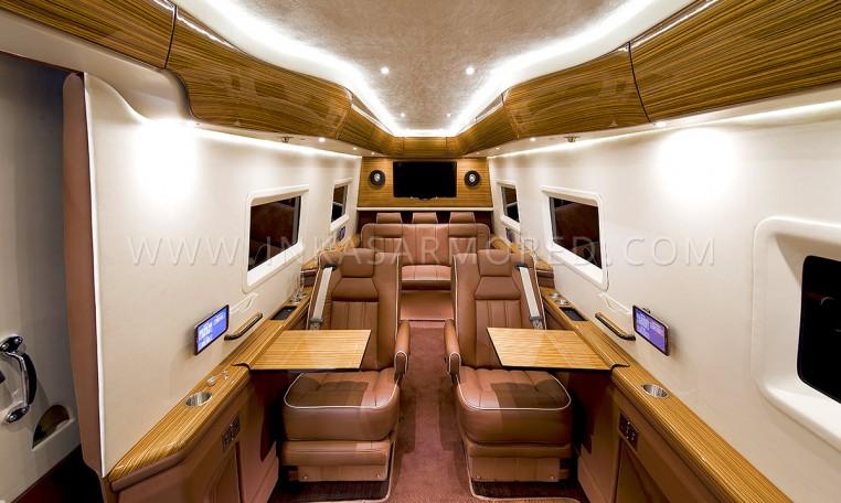 Mercedes-Benz Sprinter Limousine Interior Nigeria