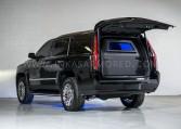 Armoured Cadillac Escalade Rear Bulkhead Nigeria